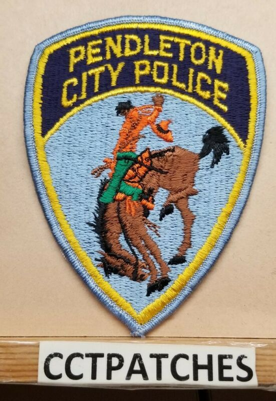 PENDLETON, OREGON POLICE SHOULDER PATCH OR