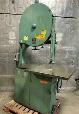 Oliver 116-d Vertical Wood 36 Band Saw 36 X 36 Table Heavy Duty Machine Rare