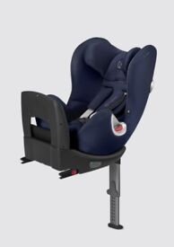 CYBEX SIRONA 360 - Gr. 0+/1, 0 - 18 kg, up to approx. 4 yrs - midnight blue LIKE NEW COND (RRP £300)
