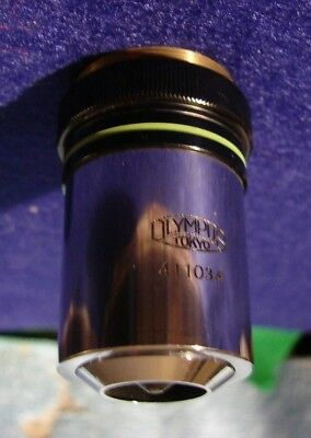Olympus Neo 40 Microscope Objective 40x 0.65 Na Very Good Condition