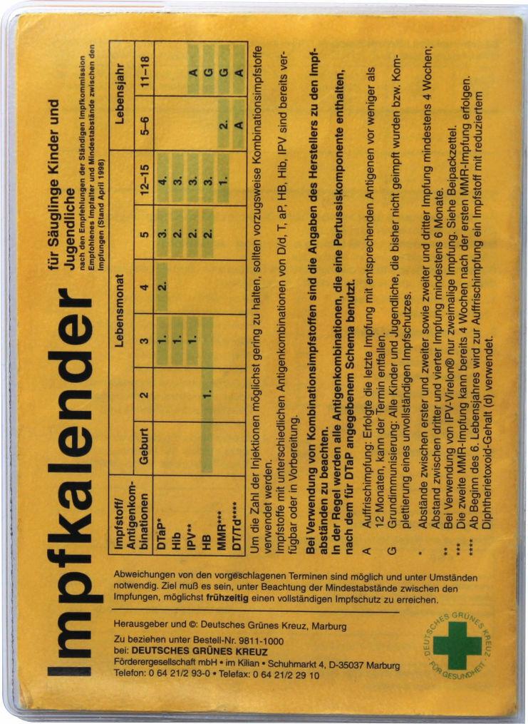 1 - 100x Impfpasshülle für Impfpassausweis Schutzhülle Impfpass Impfbuch Hülle