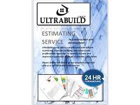 Fast turnaround estimating service