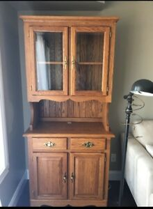 Solid Oak Cabinet