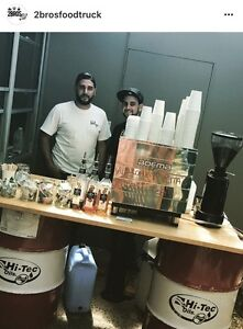 2bros coffee cart hire Dural Hornsby Area Preview