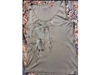 Womens Esprit Vest Top T-Shirt, Festivals etc, Medium
