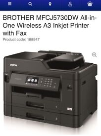 Brother wireless A3 printer