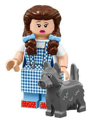 The LEGO Movie 2 Minifigures Wizard of Oz Series DOROTHY GALE WITH TOTO 71023