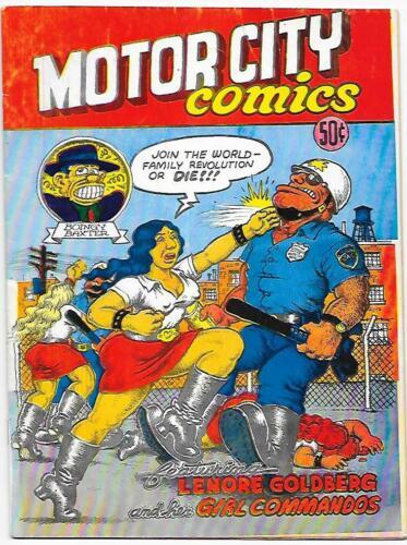 Motor City Comics #1, R. Crumb, 1st printing ROP 1969 Very Good condition