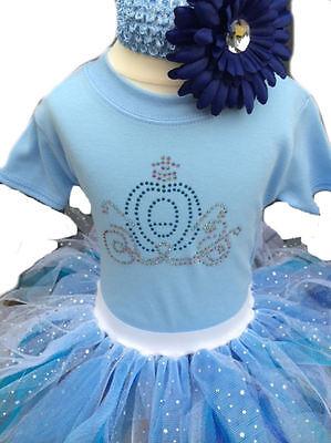 Baby Grow Princess Neon Tutu Skirt 80s Fancy Dress Party Costume Girl Elsa Set   - Elsa Baby Costume