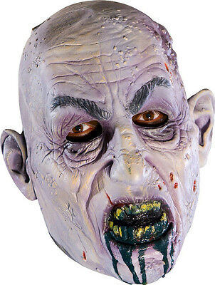 Rubie's Costume Co Scary Past Dead Zombie Corpse 3/4 Adult Costume Mask