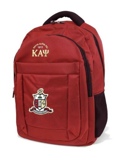 Kappa Alpha Psi Fraternity Backpack-New!