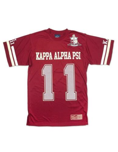 Kappa Alpha Psi Fraternity Jersey Shirt- Style 1-Size Medium-New!