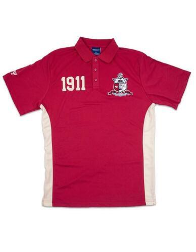 Kappa Alpha Psi Fraternity Polo Shirt-Crest- Size 2XL-New!