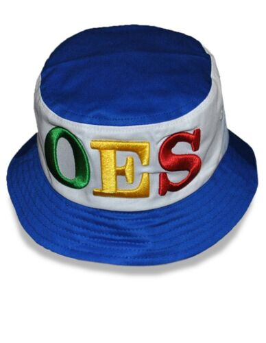 Order of the Eastern Star OES Bucket Hat with Stripe-New!