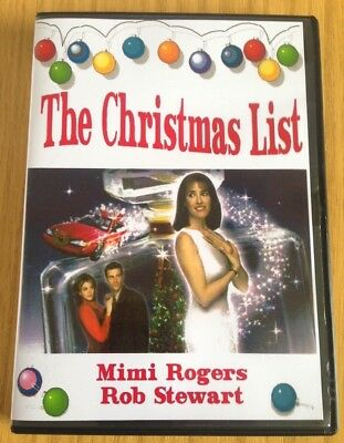 THE CHRISTMAS LIST - XMAS MOVIE CLASSIC MIMI ROGERS & ROB STEWART [DVD] ()