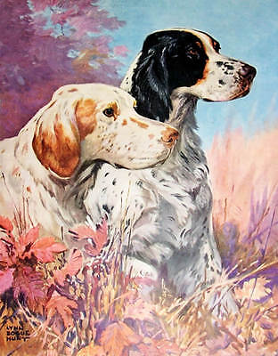2 Bird Hunting Dogs by Lynn Bogue Hunt