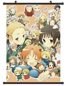 4554 Anime Axis Powers Hetalia Decor Poster Wall Scroll cosplay