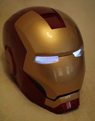 Maske Mask Halloween club DJ stage cosplay Kostüme Lights (Halloween Iron Man Kostüm)