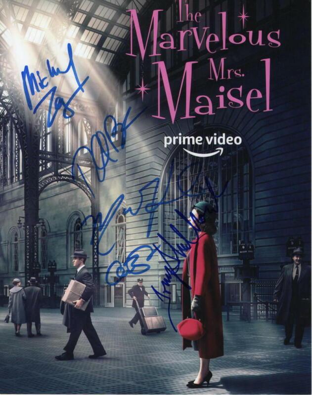 THE MARVELOUS MRS MAISEL CAST SIGNED AUTOGRAPH 11x14 PHOTO - RACHEL BROSNAHAN +4