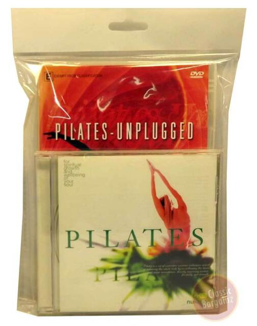 Pilates Unplugged * NEW DVD + CD * Peter Roberts mind body spirit fitness toning