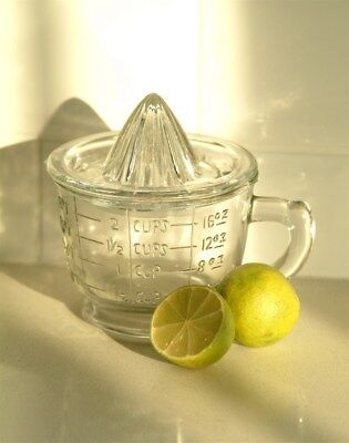Vintage style glass juicer and measuring jug for sale  Shipping to United States
