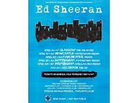 Ed Sheeran Ticket One Seated ticket