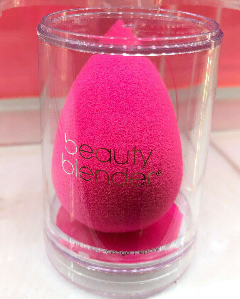 Original Beauty Blender Sponge ????makeup tool with SOLID latex free ???? PINK new