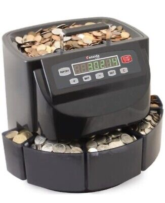 Cassida C200cad Canadian Coin Counter And Sorter For 900 Coins