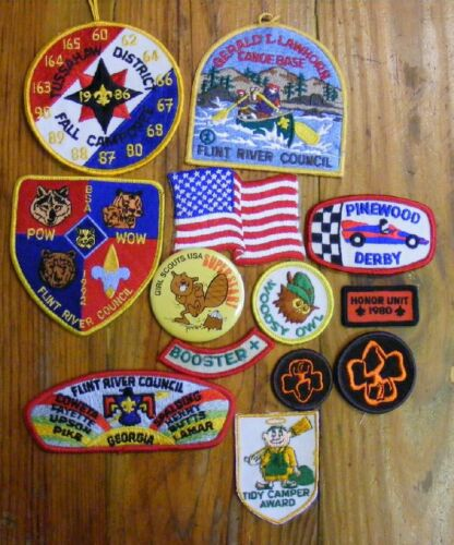 NICE GROUP FLINT RIVER COUNCIL TUSSAHAW DISTRICT FALL CAMPOREE 1986 + EXTRAS