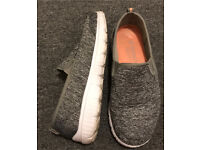 Grey Trainers size 4
