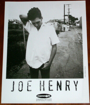 Joe Henry  8x10 B&W Press Photo Mammoth Records