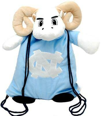 North Carolina Tar Heels Backpack Pal [NEW] NCAA String Bag Backsack Back (North Carolina Tar Heels String)