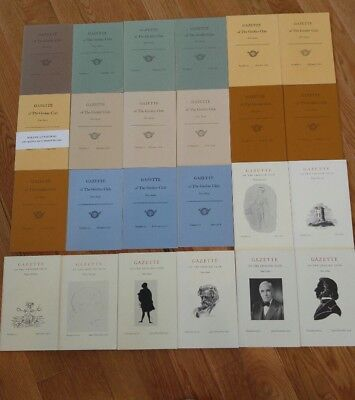 Gazette Of The Grolier Club New Edition Vol 1   50 June 1966   1999 Complete