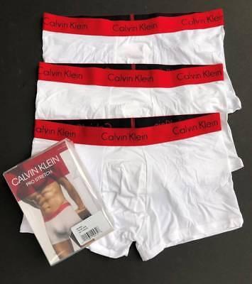 Calvin Klein 3 Pack Men M L XL Pro Stretch Boxer Briefs Underwear NEW