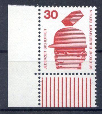 BERLIN MI NR 406 ECKE 3 30 UNFALLVERH TUNG I POSTFISCH 1971