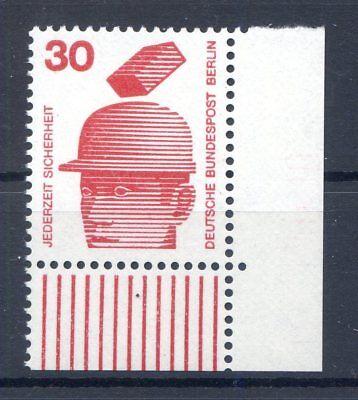 BERLIN MI NR 406 ECKE 4 30 UNFALLVERH TUNG I POSTFISCH 1971