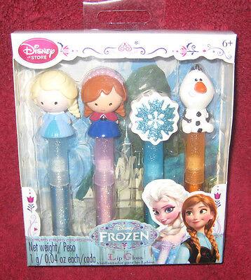 Frozen Makeup (DISNEY STORE FROZEN LIP GLOSS LIPSTICK MAKE UP MAKEUP  ELSA OLAF ANNA SET OF 4)