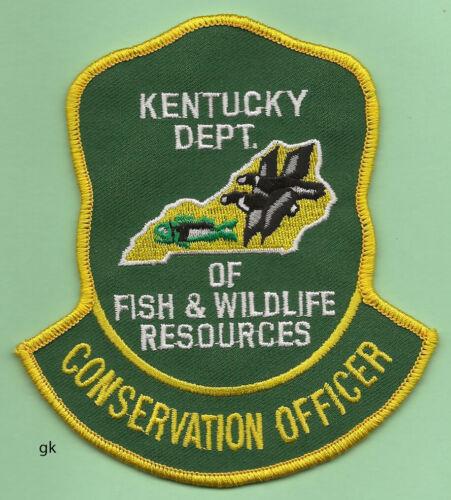 KENTUCKY DEPT. OF FISH & WILDLIFE  SUPERVISOR   SHOULDER PATCH