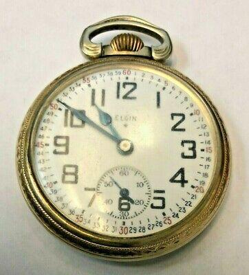 1941 Elgin Grade 486 Gold Filled Pocket Watch
