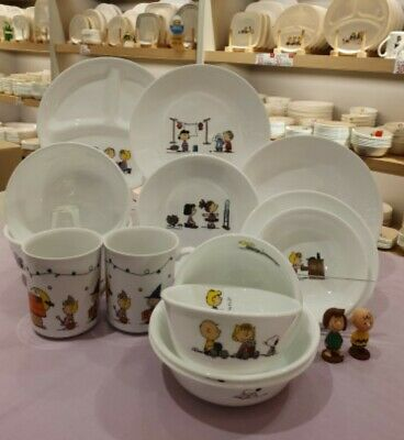 [SNOOPY PEANUTS x CORELLE]   FOR 2 PERSON THE HOME 16pcs SET /   Limited Edition