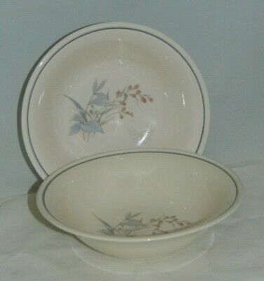 2 Keltcraft Noritake Kilkee Ireland #9109 Cereal Bowls Detergent / Oven Safe Noritake Oven Safe Bowls