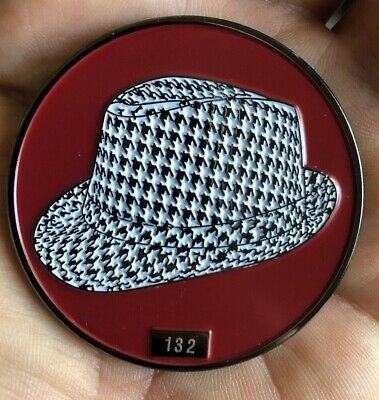Alabama Crimson Tide Commemorative Coin, Paper Weight, Poker Chip, Referee Coin