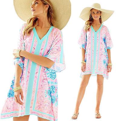hea V-Ausschnitt Kaftan Kleid Hartzinn Pink Sohle Seaurchin (Zinn Kleid)