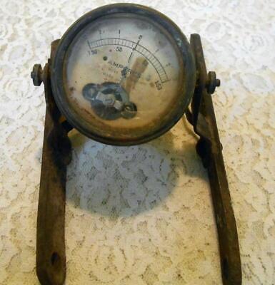 Antique Hoyt Meter Amperes Meter Vintage Electrical