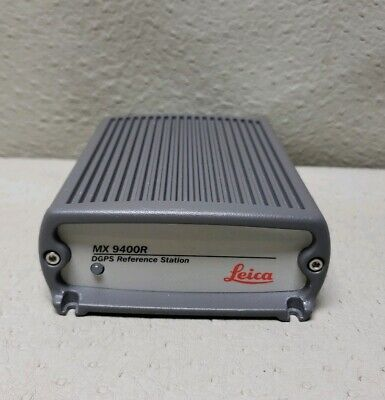 Leica MX9400R DGPS Reference Station | Part No: 10097ASY | Made In U.S.A  #3196