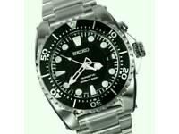 Seiko kinetic SKA371 dive watch