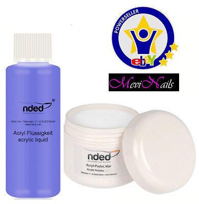 Liquid acrylic + Powder Acrylic White High Quality NDED - nails art - nails