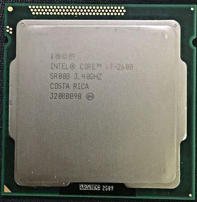 Intel Core i7-2600 - SR00B, 3.4 GHz Quad-Core Processor, LGA1155 Socket H2 CPU