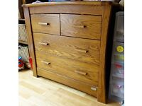 Ocean Cotbed, Chest of Drawers/Baby changer and Shelf - Great condition - GREENWICH SE10