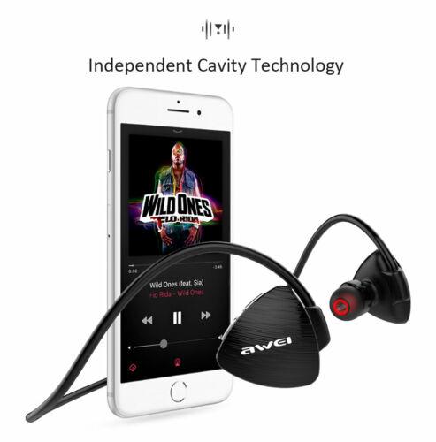 Awei A847BL Wireless Sweatproof Earphone Ear Hook Style Spor